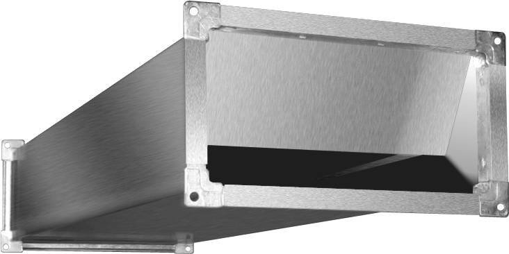 Шумоглушитель SRr 700x400 Shuft   ВентКомфорт. Системы вентиляции и кондиционирования
