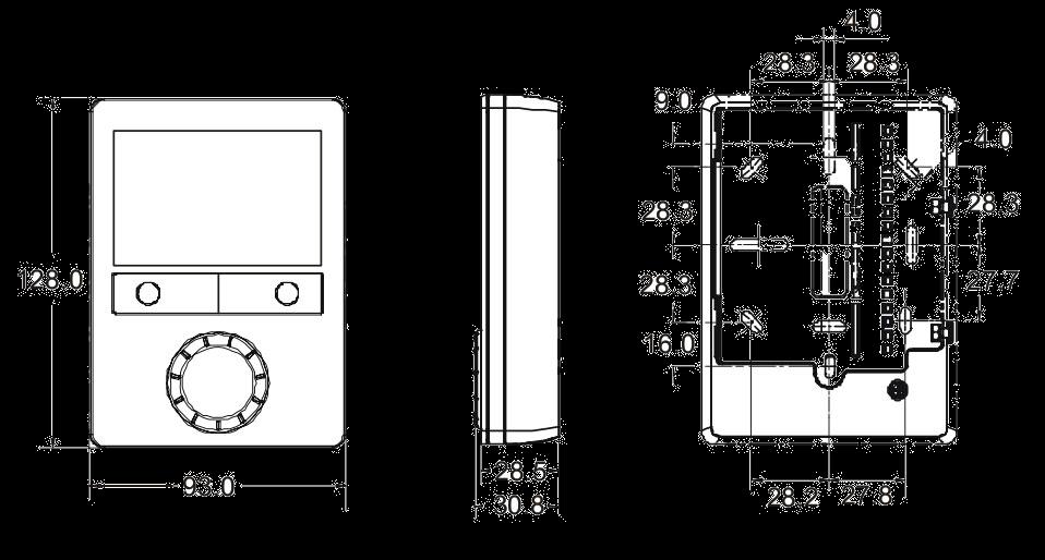 Комнатный термостат RDG160