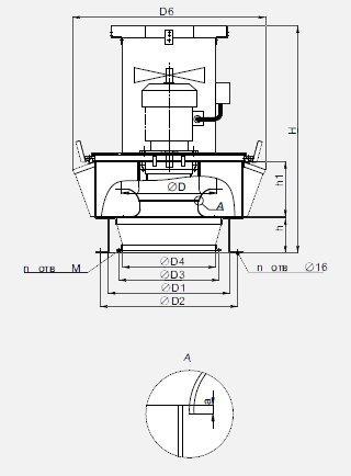 Вентилятор ВКР-6